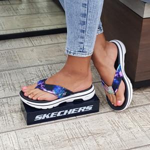 Sandale dama Skechers 140088 BKMT