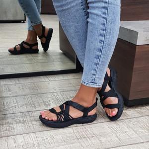 Sandale dama Skechers 140112 BBK