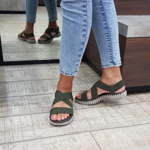 Sandale dama Skechers 140198 OLV