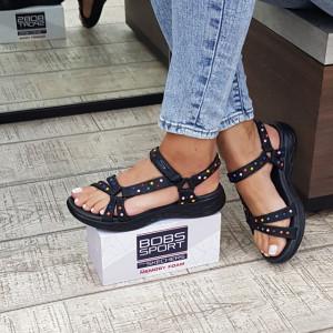 Sandale dama Skechers 16185 BKMT