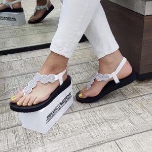Sandale dama 31755 WHT