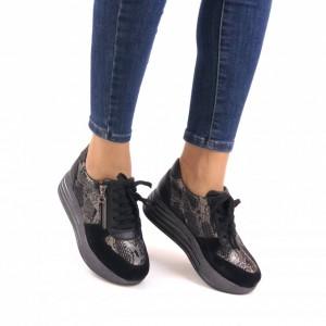 Pantofi dama piele naturala PC766