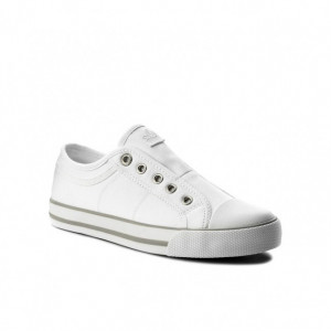 Pantofi dama 24635 100 ALB