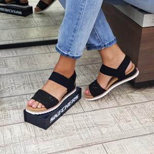 Sandale dama Skechers 113542 BLK