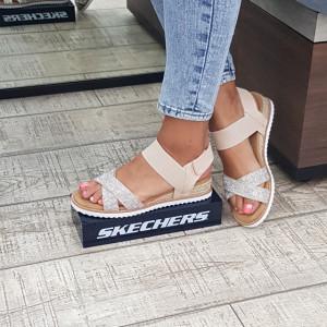 Sandale dama Skechers 113548 NAT