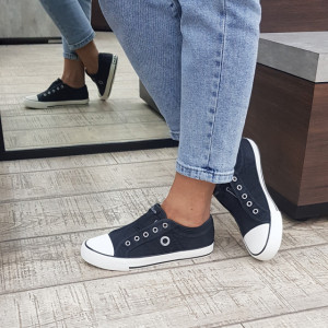 Pantofi dama 24635 100 Black