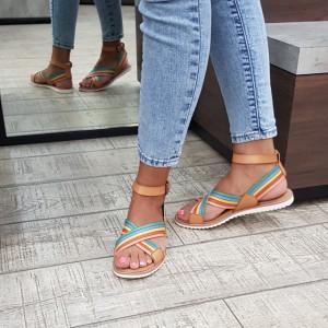Sandale dama Skechers 113663 MLT
