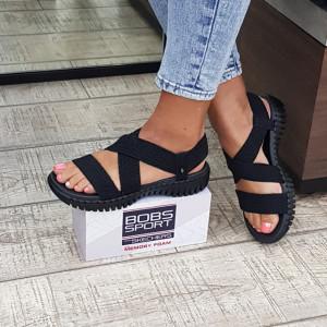 Sandale dama Skechers 140198 BBK