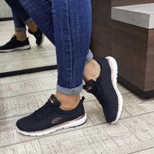 Pantofi dama Skechers 13070 BKRG