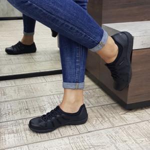 Pantofi dama 76578 BLK