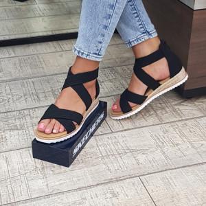 Sandale dama Skechers 113540 BLK