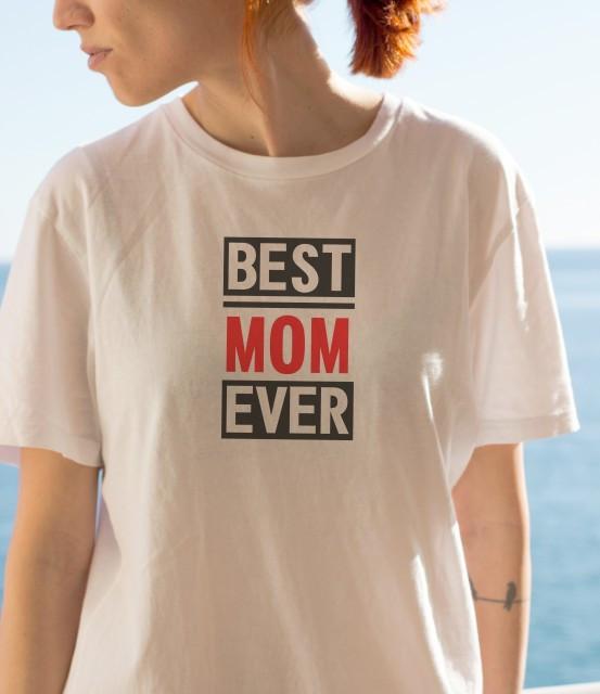 Imprimeu tricou BEST MOM EVER