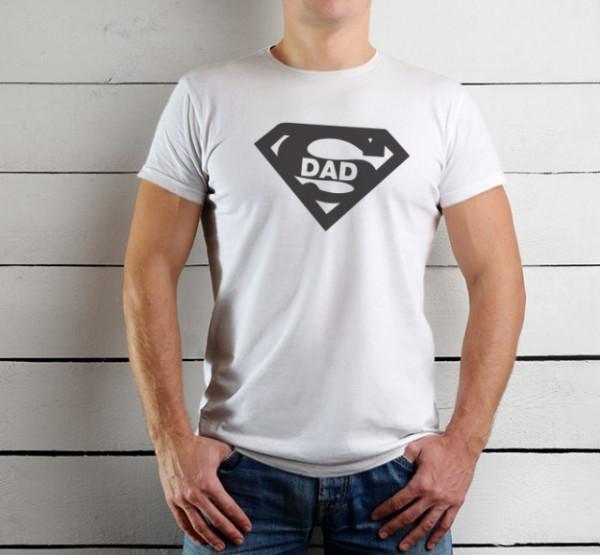 Imprimeu tricou SUPER DAD