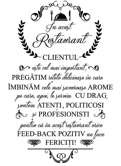 In acest restaurant