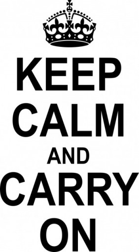Poze Keep calm and carry on