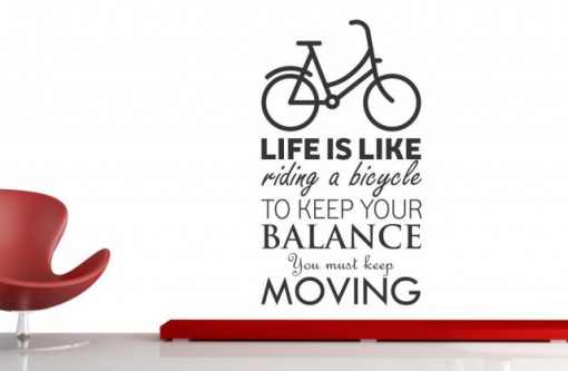 Poze Life is like riding a bicycle