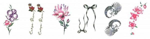Set 6 tatuaje temporare -carpe diem- 9x5cm