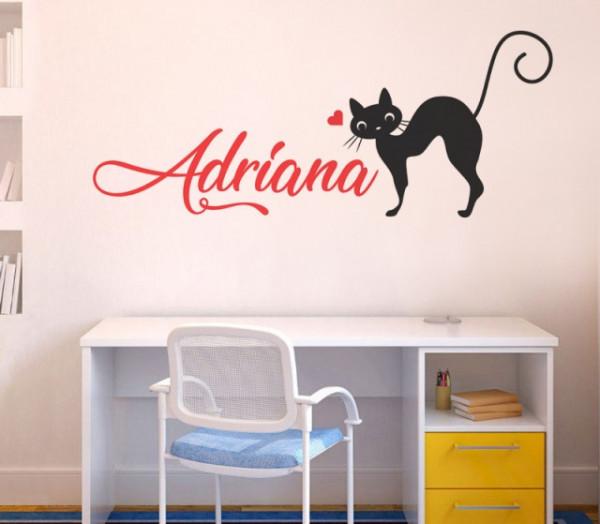 Sticker cu nume - Adriana