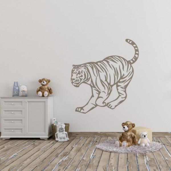 Sticker De Perete Tigru 2
