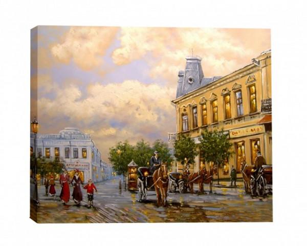 Tablou Canvas Efect Pictura Trasuri In Oras