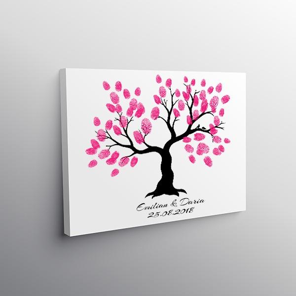 Tablou Canvas Finger Print Tree Pasarele