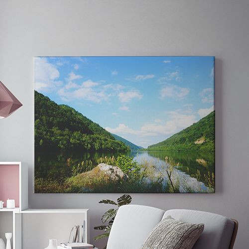 Tablou Canvas Lac verde