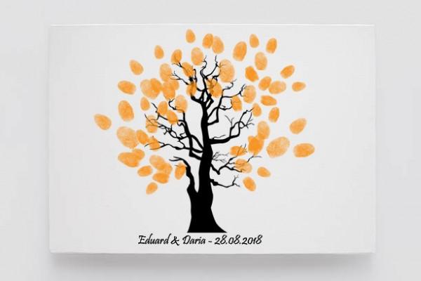 Finger print tree influence