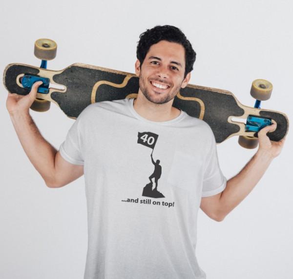 Imprimeu tricou STILL ON TOP