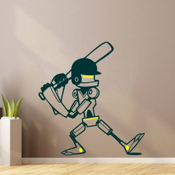 Robotel cu bata (in doua culori)