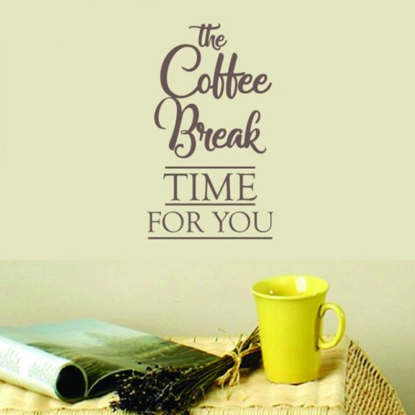 Sticker De Perete Coffee Break