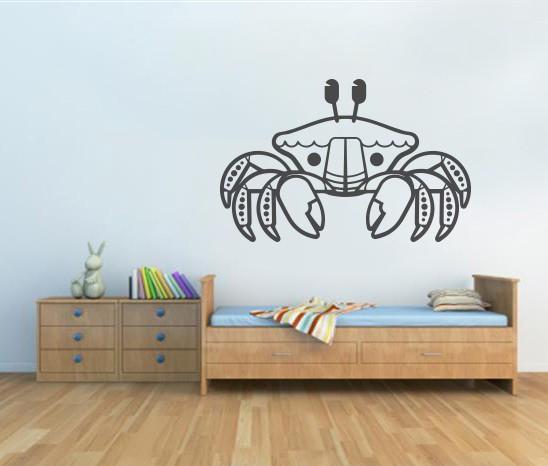 Sticker De Perete Crab
