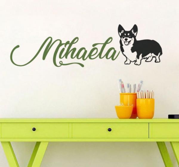 Sticker De Perete Cu Nume - Mihaela