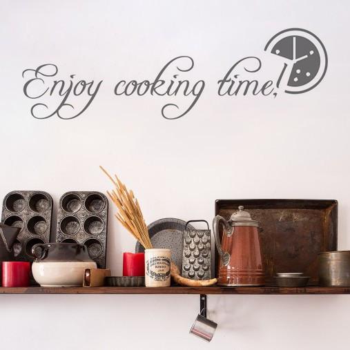 Sticker De Perete Enjoy Cooking Time