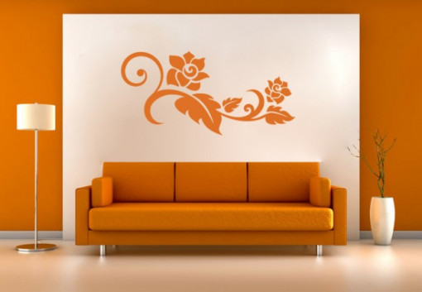 Sticker De Perete Floare Orizontala