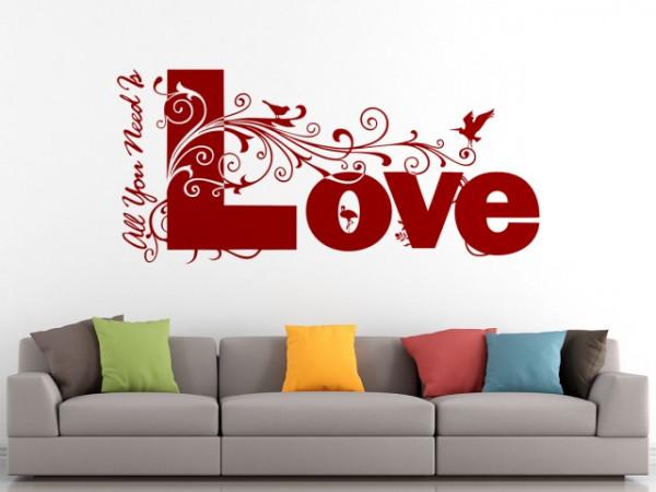 Sticker De Perete Love