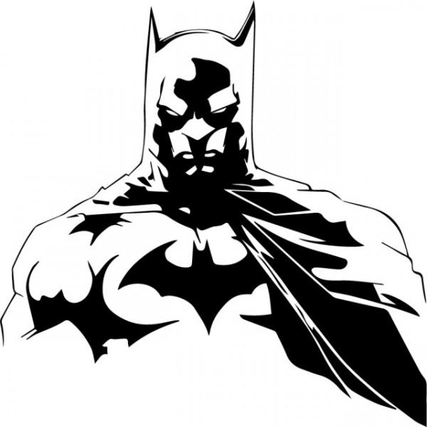 Sticker laptop - Batman