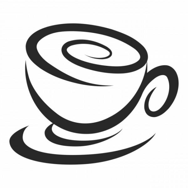 Swirl Coffee Cup Food Drink