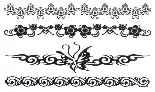 Tatuaj temporar - bracelets- 17x10cm