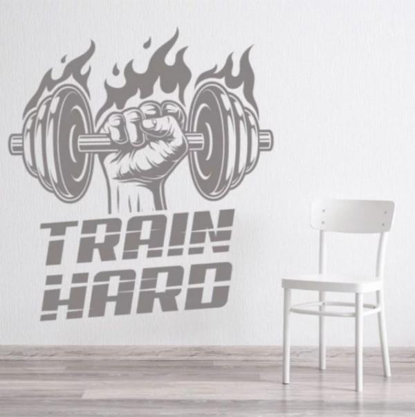 Train Hard Bodybuilder