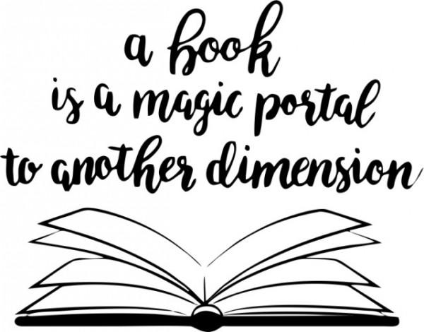 A book is a magic portal