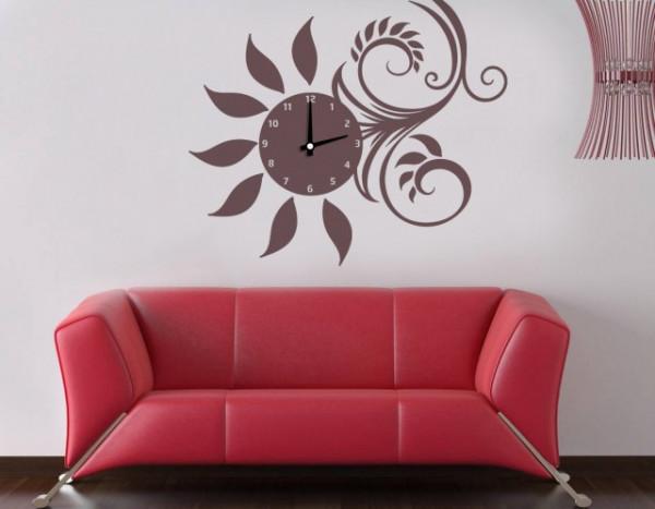 Ceas De Bucatarie Model Floarea Soarelui