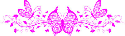 Fluture floral 1