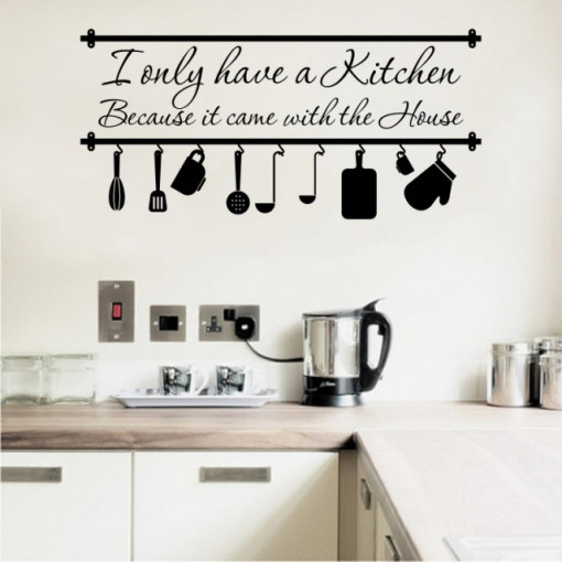 Poze I only have a kitchen