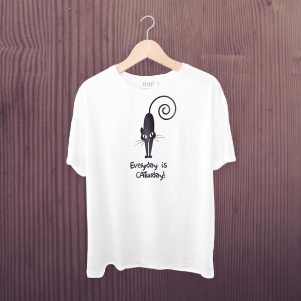 Imprimeu Tricou Caturday
