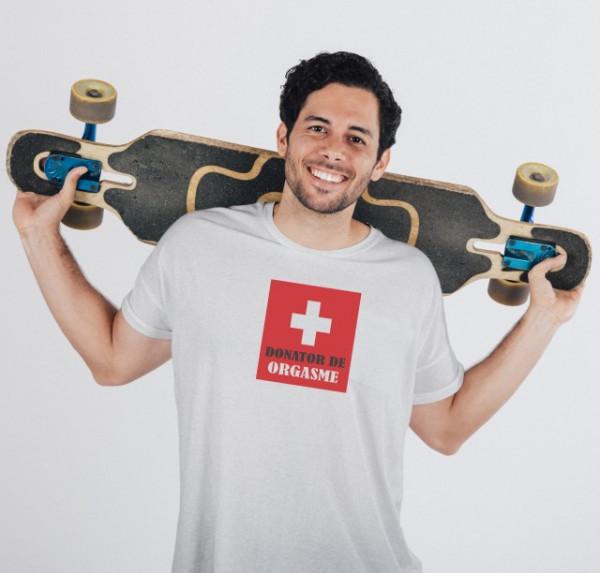 Imprimeu tricou DONATOR DE ORGASME