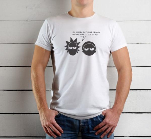Imprimeu tricou RICK AND MORTY