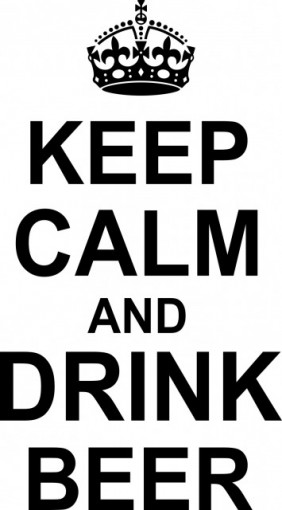 Poze Keep calm and drink beer