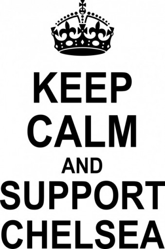 Poze Keep calm and support Chelsea