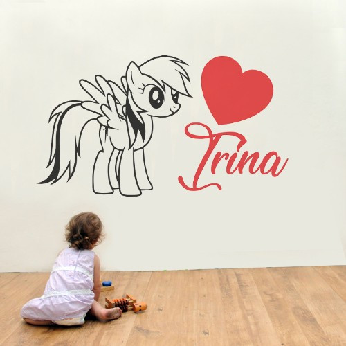 Sticker cu nume - Irina