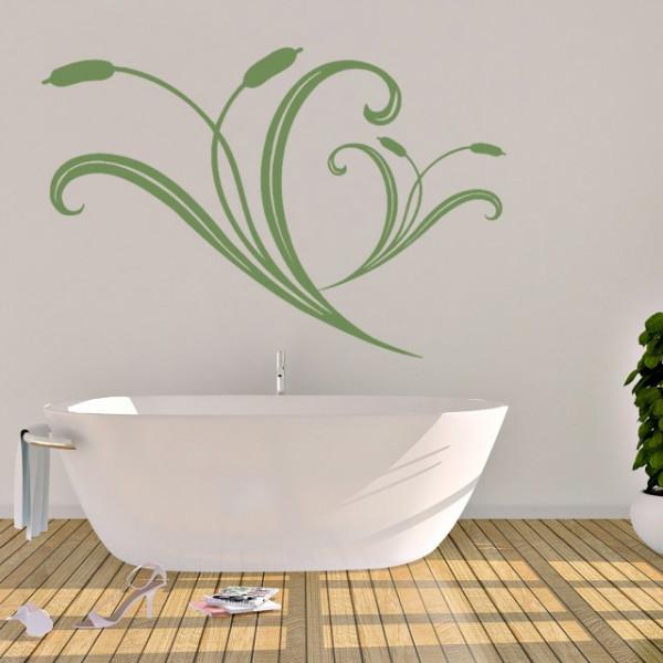 Sticker De Perete Abstract Floral 02